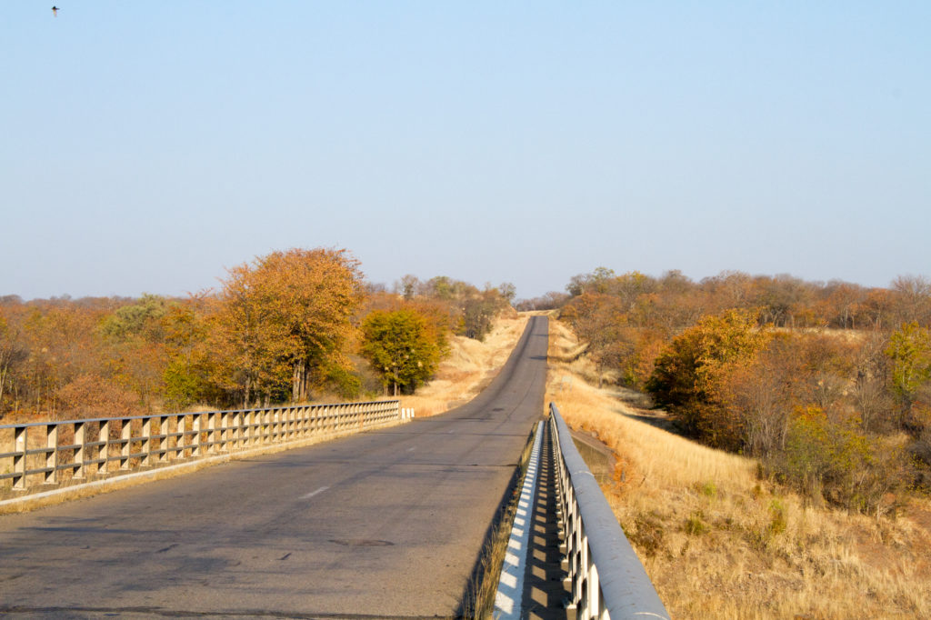 Zimbabwe Road by Sarah Kerr