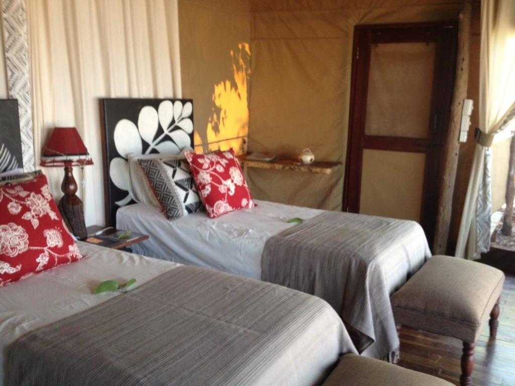rooms at Impala run at Changa Safari Camp
