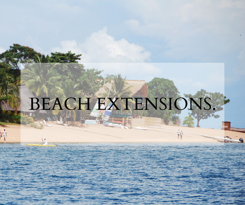 Beach Extensions